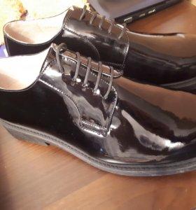 Ботинки лакированные (ВМФ)