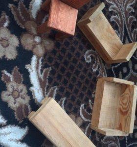 Деревянна мебель для кукол
