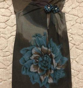 Платье трикотаж 46 размер