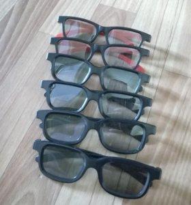 3D очки в кино