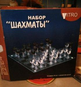 """Набор из рюмок """"Шахматы"""""""