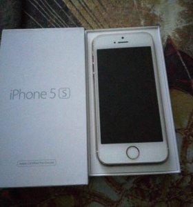 Айфон 5s Gold 16gb срочно