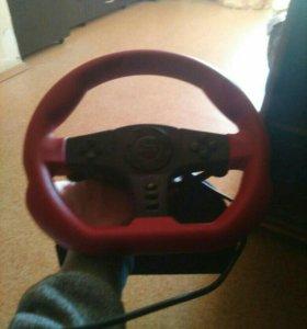 Руль для видеоигр