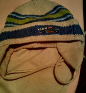 Комплект(шапка+шарф)