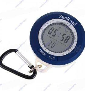 Барометр рыбака: метеостанция, термометр