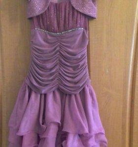Платье праздничное для девочки размер 40