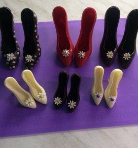 Шоколадные туфельки