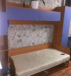 Детский кровать и шкафы