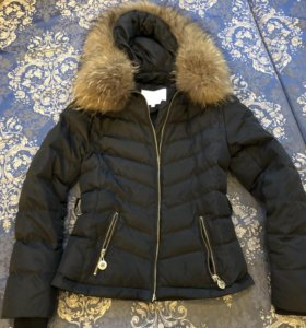 Пуховик Куртка Elisabetta Franchi со съемным низом
