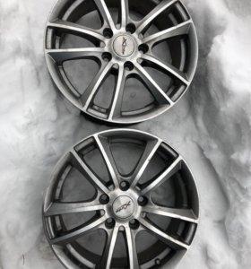 Литые диски r16 x-trike x-116 5x114.3