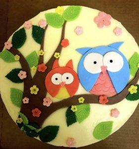 Торт,капкейки
