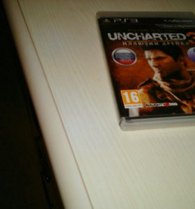 Диск PS3 UNCHARTED3