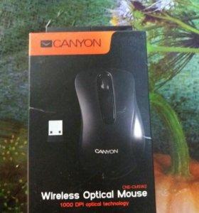 Продам беспроводную мышку Canyon