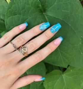 Наращивание ногтей 🌸🌸😍❤️❤️❤️
