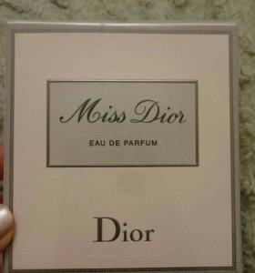 Оригинал Miss Dior eau de parfum 100мл