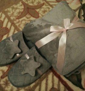 Тапочки женские домашние Mary Kay