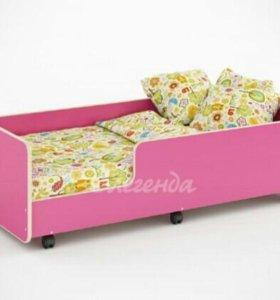Детская кровать+матрас