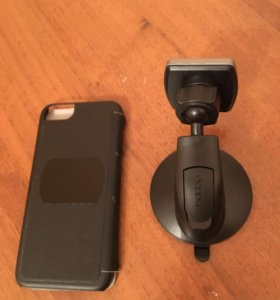 Держатель магнитный deppa с чехлом айфон 6,6s