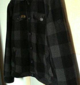 Шерстяная куртка-тракер Dreamweaver London M