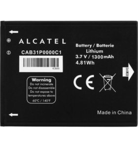 БАТАРЕЯ МТС,Alcatel One Touch (cab31p0000c1)