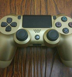 Геймпад Sony DualShock золотой v2(CUH-ZCT2E)