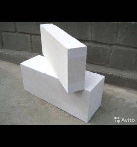 Блоки газобетон 250/400/600
