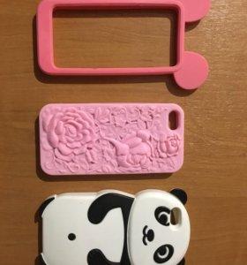 Чехлы на iPhone 5s,3 штуки.торг