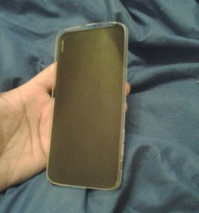 Силиконовый чехол и защитная пленка для айфон 7