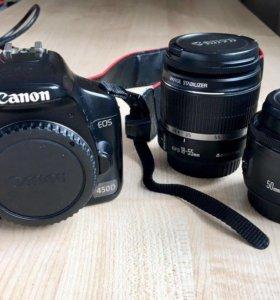 Цифровая камера Canon 450b