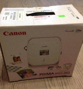 Принтер для фотографий Canon Pixma mini260
