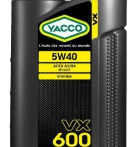 Моторное масло YACCO VX600 5W40