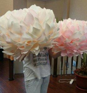 Оформление фотозоны цветами