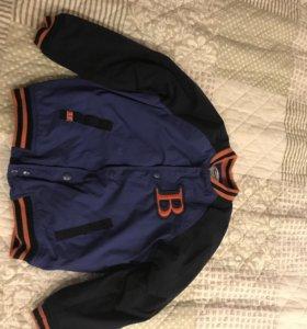 Куртки демисезонные Глория джинс на мальчика 4-5 л