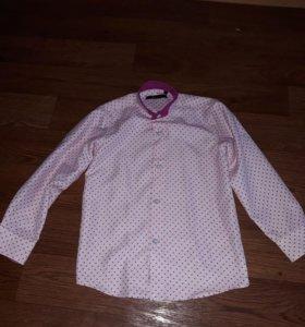 Одета 1 раз 116 рост рубашка