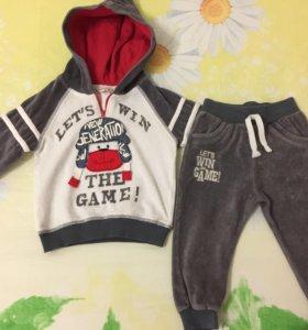 Спортивный костюм для мальчика 1-1,5 годика