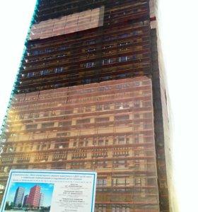 Услуги фасадчиков, монтаж вентилируемого фасада.