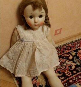 Кукла ссср Светлана паричковая