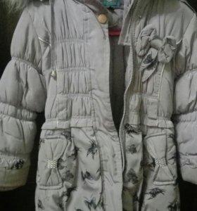 Зимний пуховичок на девочку