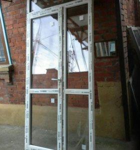 Металлопластиковые двери, окна.