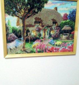 Картины вышитые крестом