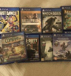 Игры для PlayStation 4 ( цена указана за каждую)