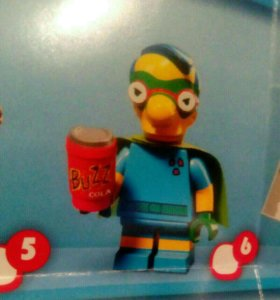 Lego Лего минифигурки the simpsons менхаузин