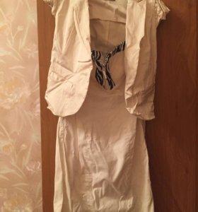 Платье + жакет