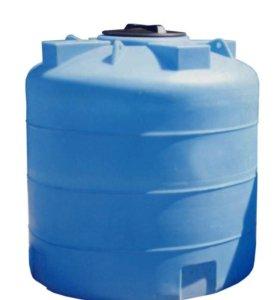 Бак пластиковый объемом 3000 литров для воды