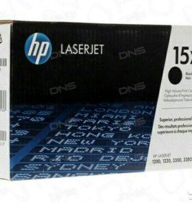 Картридж лазерный HP 15X (C7115X) -2 шт, все 3500