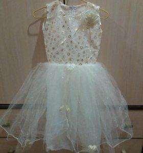 Новое платье 98-104