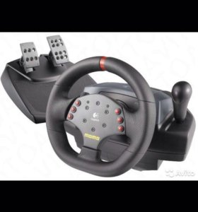 Руль для ПК Logitech Momo Racing