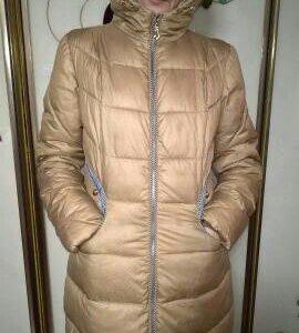 Золотая зимняя куртка