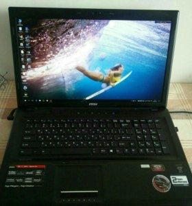 """Игровой ноутбук MSI GE70 2PL Apache 17.3"""""""