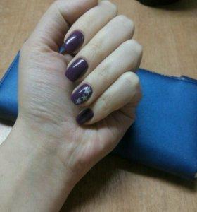 Шеллак ногтей